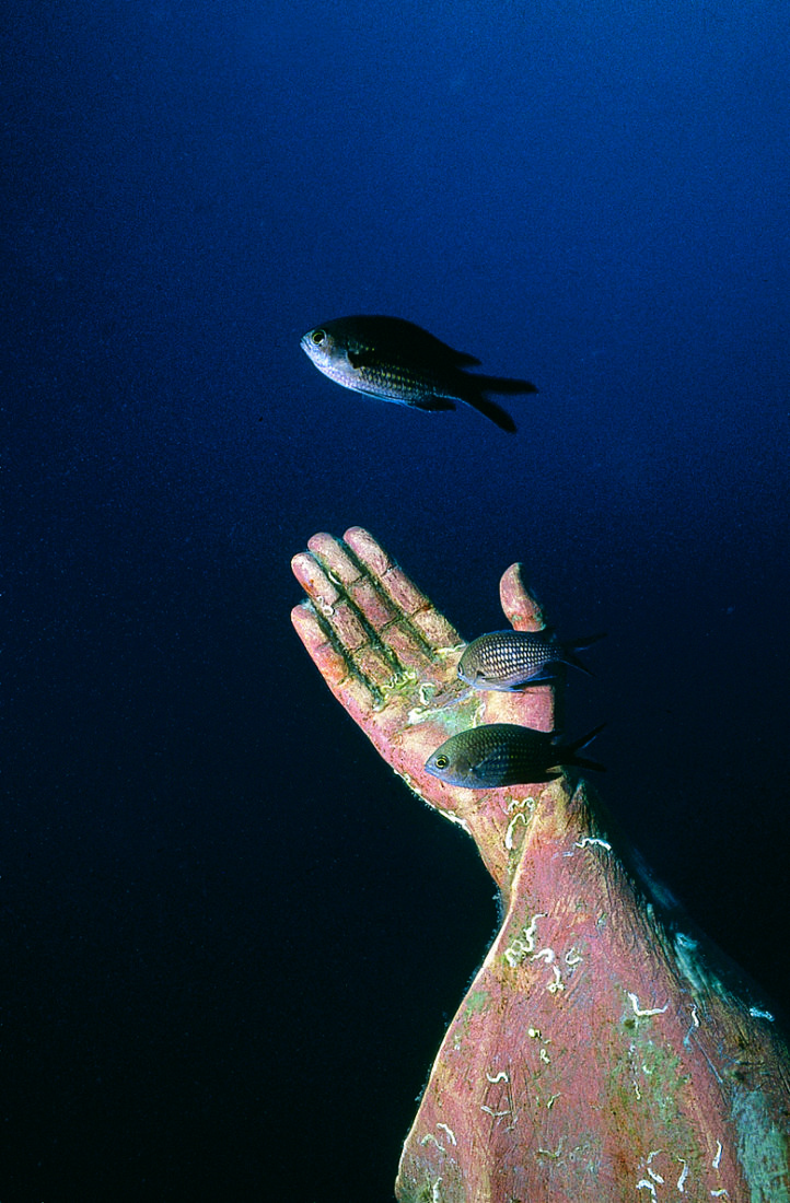 Diving on Christ in Italia